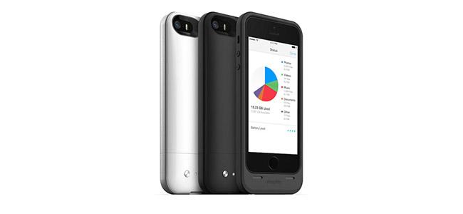 世界初!iPhoneの容量を最大32GB増やせるストレージ内蔵バッテリーケースが便利そう!