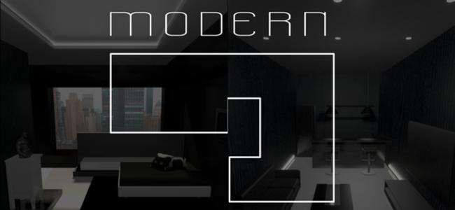 ちょっとした時間に謎を解こう!美しい部屋が舞台!「脱出ゲーム ModernRoom」