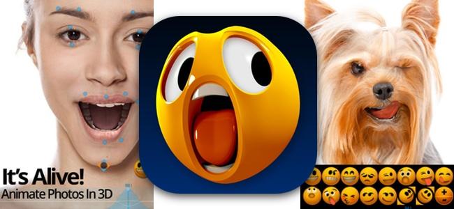顔の写真をリアルに自由に変えられてアニメーションで動かせる「Mug Life」