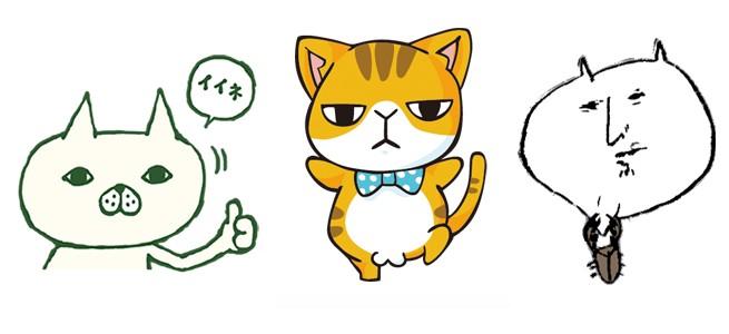 【厳選LINEクリエイターズスタンプ】「ネコヤマさん」「ぽってりおなかのゆるネコ達」人気のネコキャラスタンプ特集!