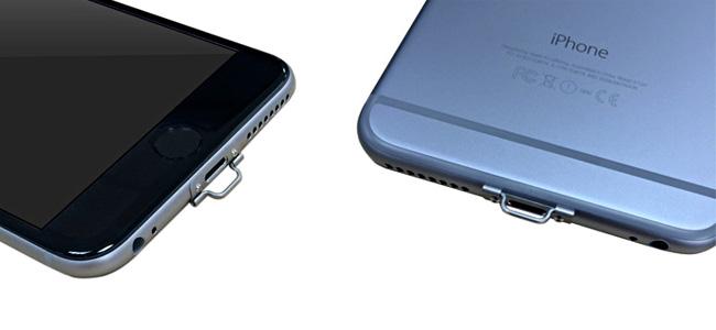 裸派に捧ぐ、iPhone 6/6 Plusに直接取り付けられるストラップホール「NETSUKE」