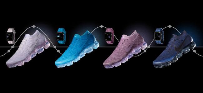Apple Watchの「Nikeスポーツバンド」に4つの新色が追加!新シューズ「Nike Air VaporMax Flyknit」に合わせたカラー展開