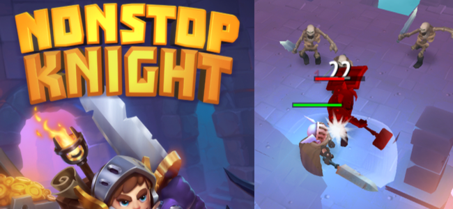 プレイし始めたら止まらない!ノンストップアクションRPG「Nonstop Knight」