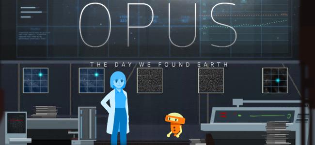 コミカルでちょっと切ない、果てしない宇宙で健気に地球を探すロボットの物語「OPUS-地球計画」レビュー