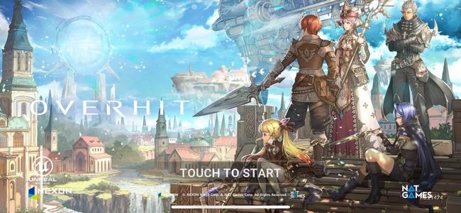 注目の大型新作RPG「OVERHIT」がサービス開始!