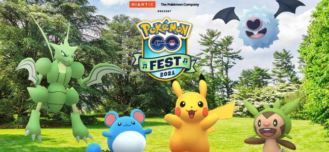 今年も「Pokémon GO Fest 2021」開催が決定!7月17日(土)・18日(日)の2日間
