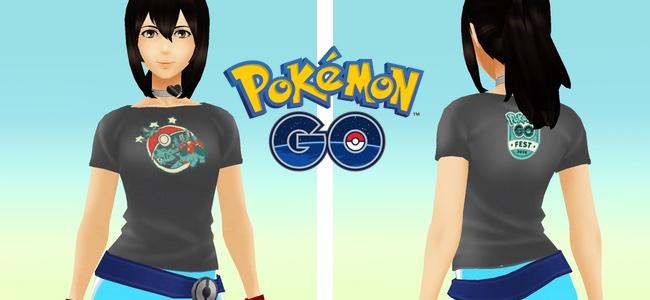 【ポケモンGO】Pokémon GO Fest 2018開催を記念して特別デザインのTシャツが無料配布