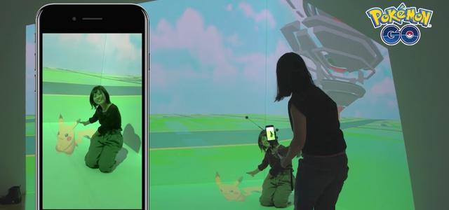【ポケモンGO】ポケモンやジムが立体的に映って一緒に記念撮影ができる「相棒ポケモンと記念撮影!」が開催。本日9月16日より開催の「第20回文化庁メディア芸術祭受賞作品展」にて