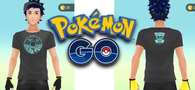 【ポケモンGO】「Pokémon GO Fest」にあわせて、着替えに専用デザインのTシャツが登場