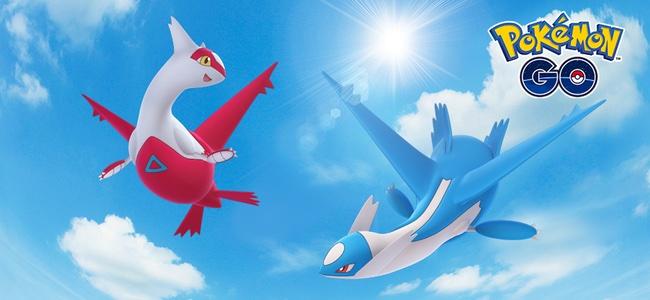 【ポケモンGO】今日4月3日から伝説のポケモン「ラティアス」と「ラティオス」がレイドバトルに登場!