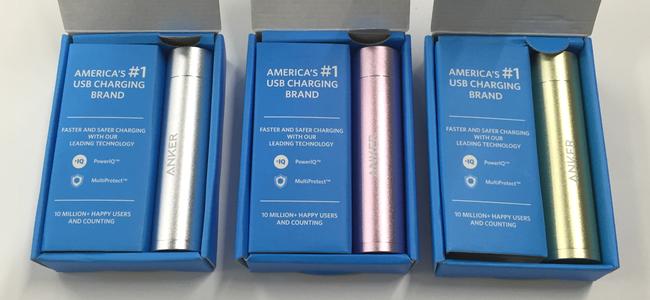 超小型・軽量だけどiPhone 6を1.5回充電できる!Anker最新モバイルバッテリー「Anker PowerCore+ mini」レビュー!