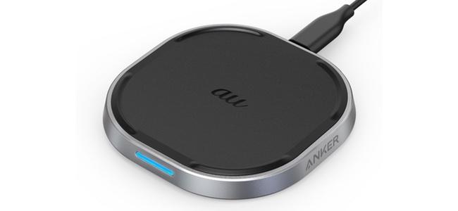 Ankeがauとコラボしたワイヤレス充電器「Anker PowerWave 15 Pad」が発売開始!iPhoneの高速7.5W充電も可能!