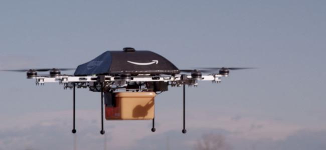小型無人ヘリで30分以内にお届け!Amazonが究極の配送サービスを発表!