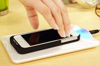 着けるだけでワイヤレス充電が可能に!iPhone 5ケース「置きらく充電 レシーバー」
