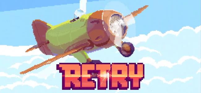 何度も挑戦したくなる中毒性はあのゲームなみ!?Angry Birdsでお馴染みのRovioから「リトライ」がリリース!