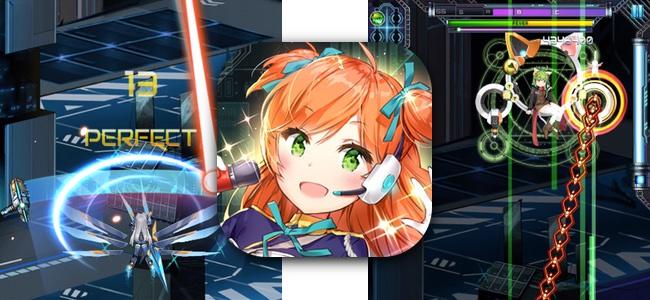 縦シューティングだと思った?実は音ゲーでした!リズムに合わせて敵の攻撃を弾いて倒す異色のリズムゲーム「Ride Zero」