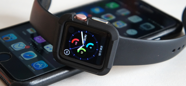 Apple Watchをガッツリ守ってくれるけど、軽くて装着に違和感は全く無し「Spigen Apple Watch ラギッド・アーマー」レビュー