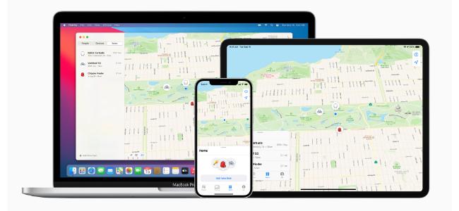 Apple純正の「探す」アプリが他社製のデバイスのトラッキングに対応開始