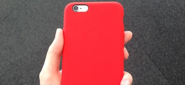 適度な硬さとフィット感!Appleの純正iPhone 6/6 Plus用シリコンケース