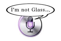 私はGoogle Glassじゃないわよ!Siriに「OKグラス」と言うと激おこプンプン丸