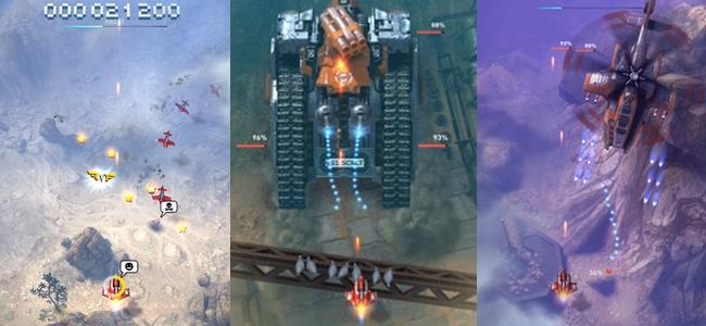 絶妙なステージ構成、武装のパワーアップによる育成要素、超正統派のシューティング「Sky Force Reloaded」