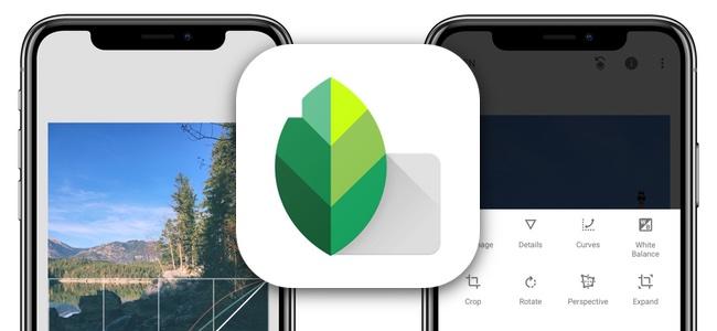 画像編集アプリ「Snapseed」がアップデートでiPhone Xに対応。全画面を使って編集が可能に