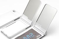 いつでも身だしなみチェック!手鏡を搭載したiPhone 5用ケース「ONE%+」発売