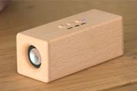 オシャレで便利!iPhoneとBluetoothで接続する木製のワイヤレススピーカー「SOUND FLY」