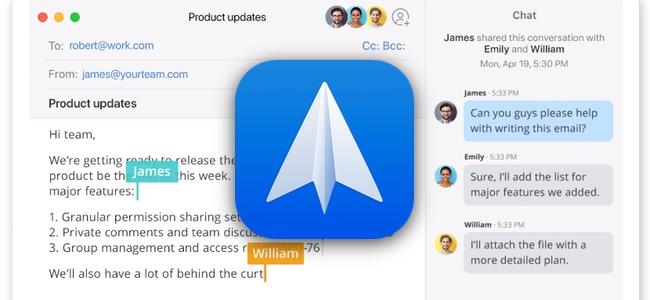 高機能メールアプリ「Spark」がアップデートで大幅機能追加。招待メンバーだけの共有やチームでの共同執筆機能、外部タスクアプリへの連携など