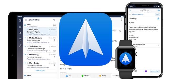 メールアプリ「Spark」がアップデートでテンプレート機能を搭載。頻繁に送る同系統のメール作成が楽に