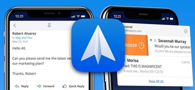 メールアプリ「Spark」がアップデートでアプリ内でPDFの注釈閲覧が可能に