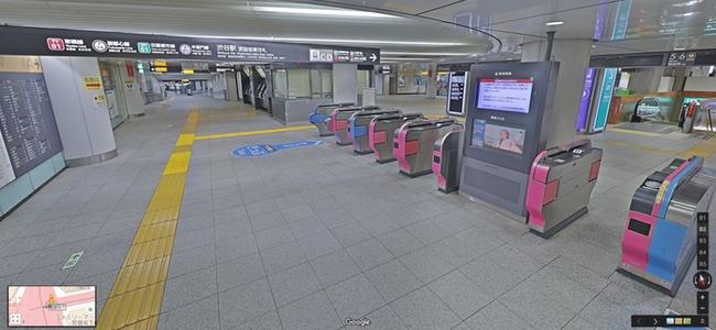 Google ストリートビューで構内を見られる駅が追加。東京メトロの41駅と東急線7駅、JR東日本3駅のホームや改札周辺などで自由に見られるように