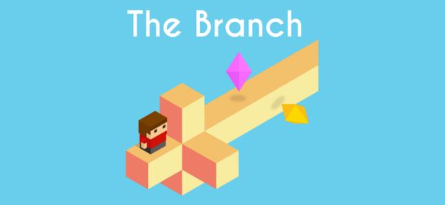 飽きることなくひたすら進むキャラを導いてあげるアクションゲーム「The Branch」