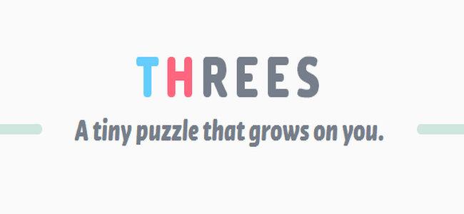 世界で人気爆発!数字を足してペアを作るシンプルなパズルアプリ「Threes!」