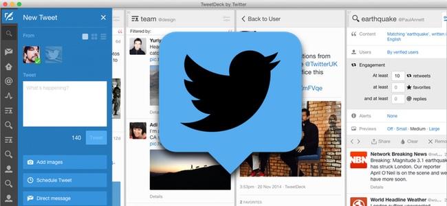 TwitterのMac版公式アプリが提供終了。今後、公式アプリはTweetDeckのみに