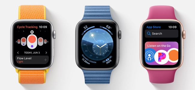 watchOS 6で追加される新しい文字盤を全部使えるのはApple Watch Series 4以降だけ。Series 3以前の機種では一部しか使えない