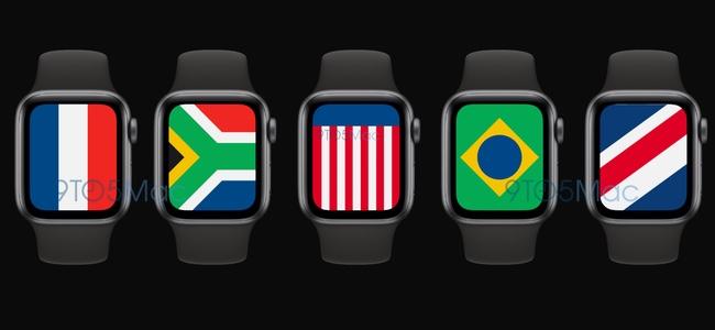 次期Apple WatchのOS、「watchOS 7」では世界各国の国旗を模した新しい文字盤「International」が搭載へ