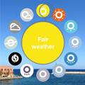 世界の空模様を共有する天気アプリ「wezzoo」のコンセプトが素敵!