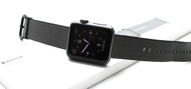 Apple Watchの新バンド「ウーブンナイロン」をレビュー!