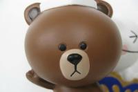 """LINEのブラウン&ムーン、人形作りの老舗「吉徳」が手がける""""五月人形""""になる!?"""