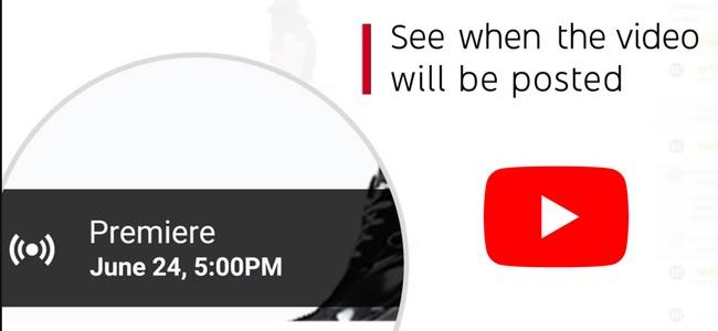 YouTubeが公開前動画の予告を出したり、ユーザーとのやり取りができる「Super Chat」を使える新機能「プレミア」を発表