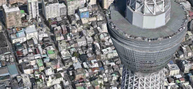 純正マップアプリで東京の街が超リアルな3Dになりました!「Flyover」機能が開始!