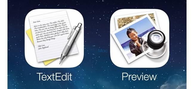 iPhoneに「テキストエディット」と「プレビュー」アプリが来る!?「メモ」と「写真」じゃダメなんですか?
