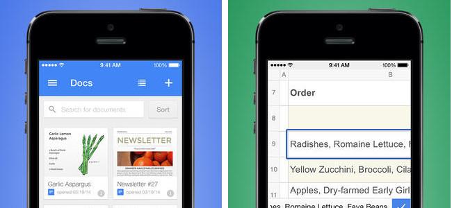 「Google ドキュメント」「Google スプレッドシート」が無料でリリース!Microsoft Officeアプリと比べてどっちが上!?