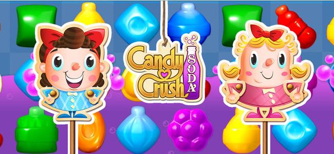 お馴染みキャンディクラッシュの新作「キャンディークラッシュソーダ」がリリース!ソーダが追加されて更におもしろく!