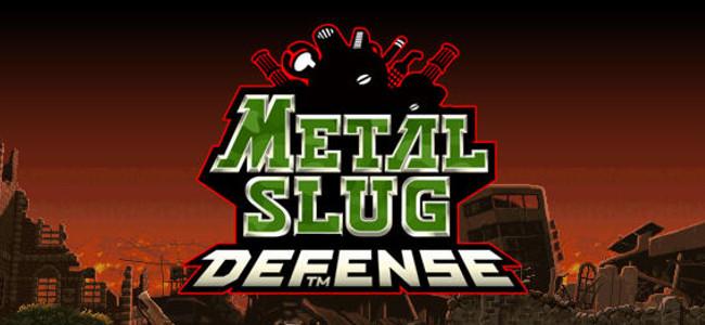 ドット絵の芸術品メタルスラッグが独特のテイストそのままにデフェンスゲームになった!「METAL SLUG DEFENSE」