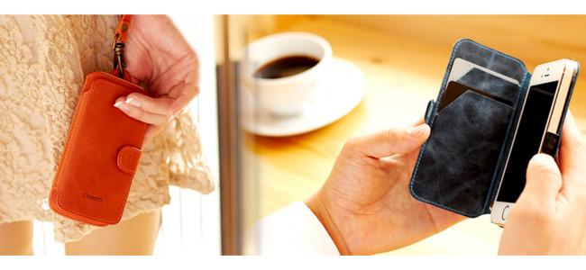 モバイルバッテリーの「Cheero」から本革ケースがスリーブとフリップの2タイプで発売開始!