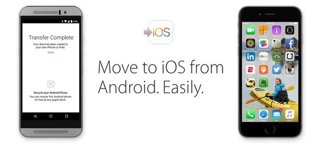 なんとAppleがAndroidアプリリリースへ。Android端末からiPhoneへの移行ツールアプリの提供を予定