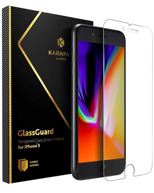 Anker KARAPAX GlassGuard iPhone 8 & 7 用