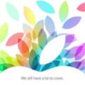 Apple新発表会が10月22日に正式決定!新iPad/miniに新Mac!新iPodも!?